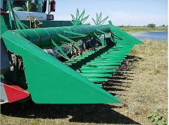 Attachment for sunflower harvesting Case, John Deere, don, buy