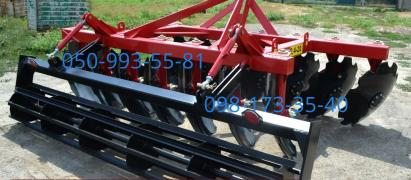 Disk units БДН2,1 MND-2,4, mounted. Delivery to farm