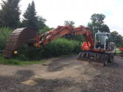 Excavator Atlas 1404 1997 rock