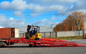 Excellent mobile Ausbau overpass ramps from the factory