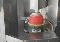 Машина для очистки от кожуры ананаса, дыни, арбузов, тыквы