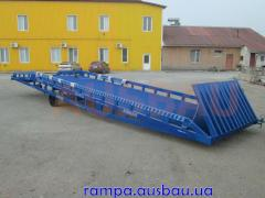 Rugged mobile ramp AUSBAU